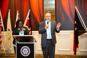 Domenic Cichello Vice President of Rotary Club of Wyndham Harbour
